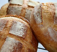 Crusty Loaves by Maggie Hegarty