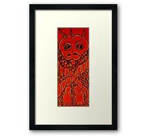Hercamus Gargolon (the pantry imp) Framed Print