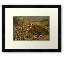 Mt Blue Rag,Victorian High Country Framed Print