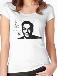 Richard Feynman Women's Fitted Scoop T-Shirt