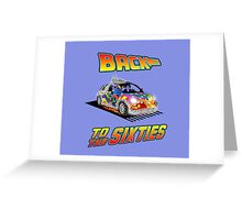 Back to the Sixties Austin Powers Greeting Card