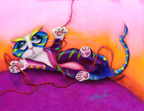 Kitty and the Bow by Alma Lee