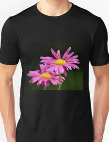 Two Pink Daisies T-Shirt