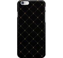 Aberdeen - Black and Gold Pattern iPhone Case/Skin