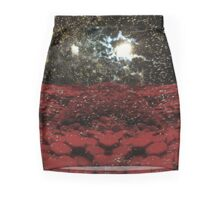 red planet Mini Skirt