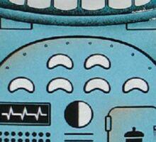 Robot Totoro Sticker