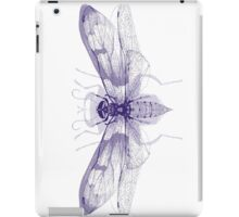 Overlaid Insect Print iPad Case/Skin