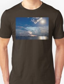 Lightning Thunderstorm Cell and Moon T-Shirt
