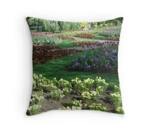 A Garden in Spring Throw Pillow