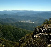 Billy Goat Bluff Track,Victorian High Country by Joe Mortelliti