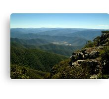 Billy Goat Bluff Track,Victorian High Country Canvas Print
