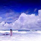 Blueberry Icecream by Andrew Pearce