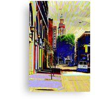 freaky town Canvas Print