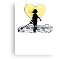 Kingdom Hearts Sora Walking Canvas Print
