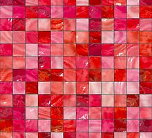 Red Tiles by Buckwhite