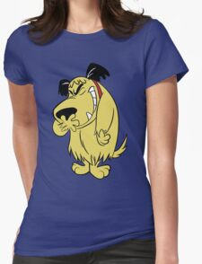 Laughing Muttley Womens Fitted T-Shirt