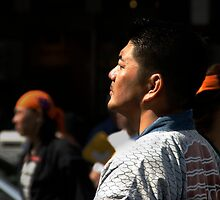 Faces at a Festival_Asakusa, Tokyo by Bryan W. Cole