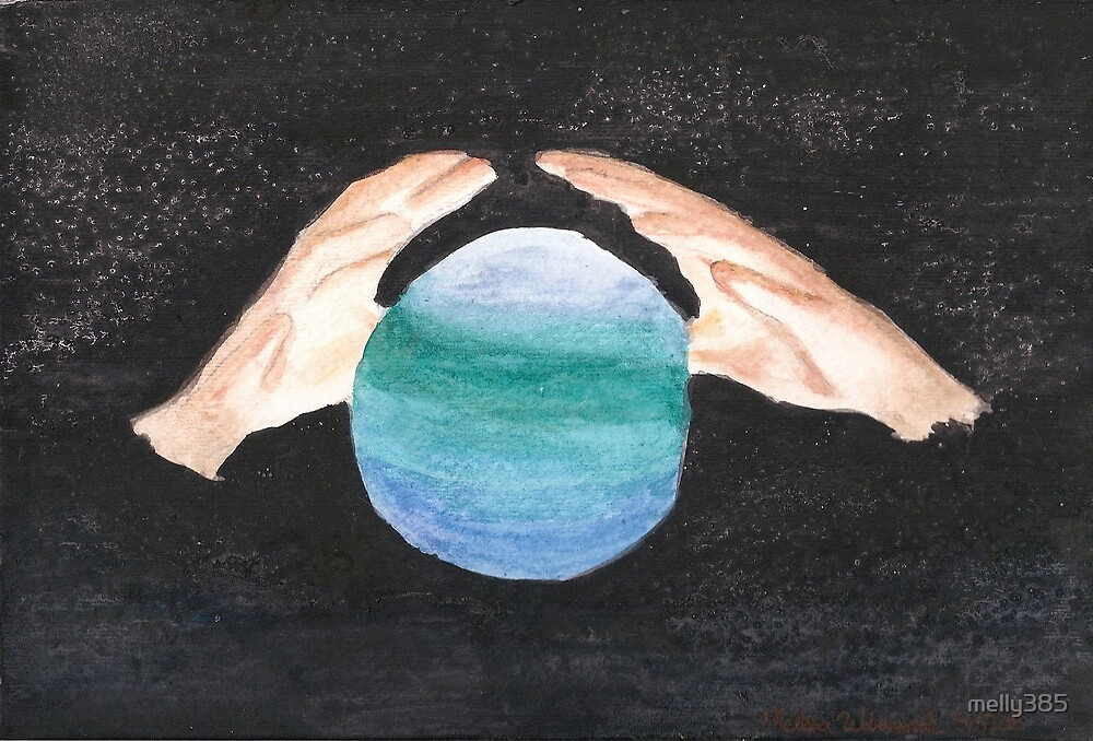 Hands and Earth by melly385