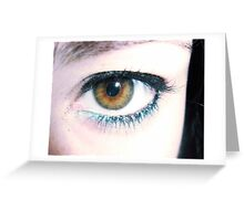oh, eyes II Greeting Card