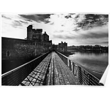 Dramatic Blackness Castle Poster