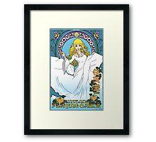 Legend of Zelda Skyward Sword Poster Framed Print