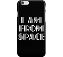 I am from space nerd geek funny geeky iPhone Case/Skin