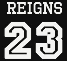 Reigns Jersey by fandomobsessed