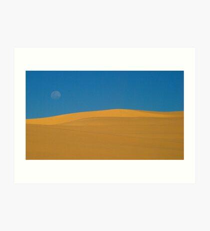 Desert graphics Art Print