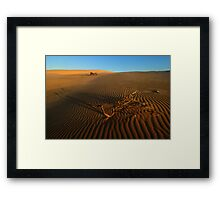 Remembering the past Framed Print