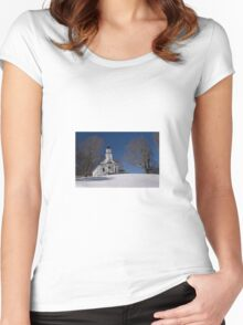 Snowy Mountain Church Women's Fitted Scoop T-Shirt
