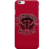 Skyrim - Football Jersey - Solitude Wolves iPhone Case/Skin