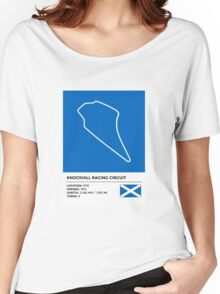 Knockhill Racing Circuit - v2 Women's Relaxed Fit T-Shirt