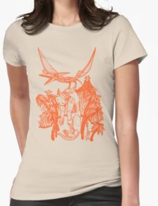 pterodactyl pilot Womens Fitted T-Shirt