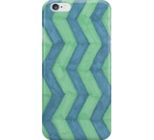 Hand Doodled zigzags iPhone Case/Skin