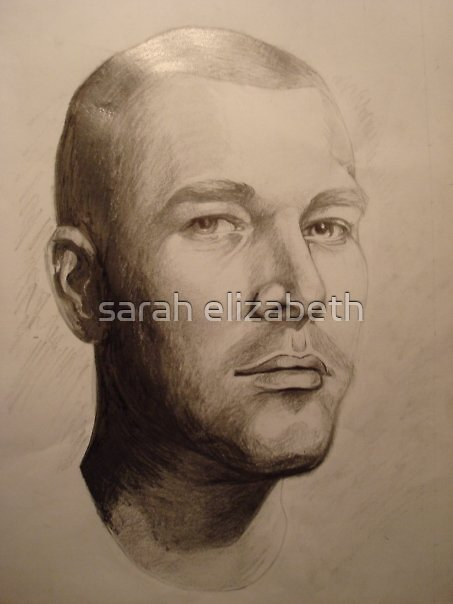 portrait of michael  by sarah elizabeth