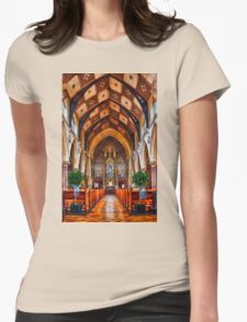 Manvers Street Baptist Church  Womens Fitted T-Shirt