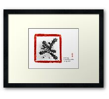 wind song Framed Print