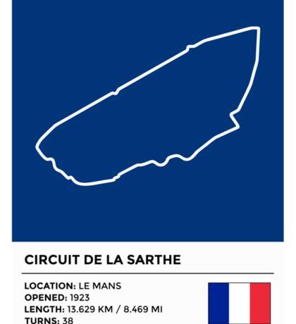Circuit de la Sarthe - v2 Sticker