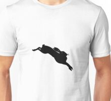Leaping Hare T-Shirt Unisex T-Shirt