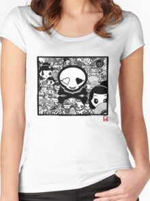 mikoto Mashup Women's Fitted Scoop T-Shirt