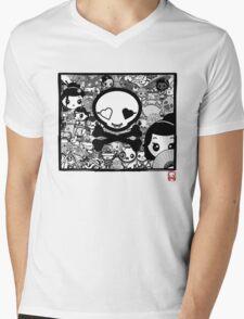 mikoto Mashup Mens V-Neck T-Shirt