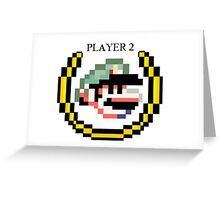 Proud to be Player 2 Greeting Card