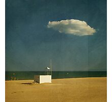 darling, its Our cloud! Photographic Print