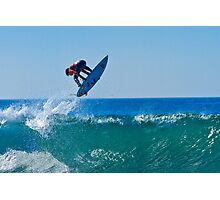 Surfer in California Photographic Print