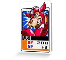 Rush Greeting Card