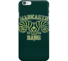 Skyrim - Football Jersey - Markarth Rams iPhone Case/Skin