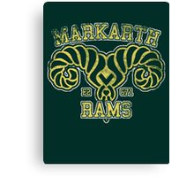 Skyrim - Football Jersey - Markarth Rams Canvas Print