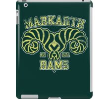 Skyrim - Football Jersey - Markarth Rams iPad Case/Skin