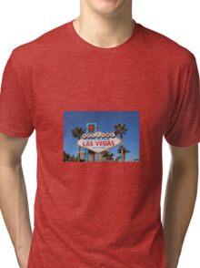 Vegas Sign Tri-blend T-Shirt