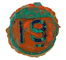 Number Nineteen Photographic Print